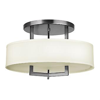 Elstead-3 lys semi flush loft lys antik nikkel-HK/HAMPTON/SF