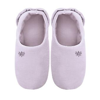 Ladies Soothing You Microwavable Slippers: Lilac