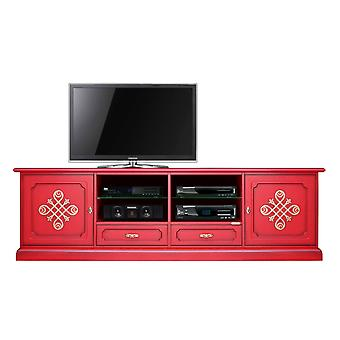 Mobile Tv 2 meters Red & Gold