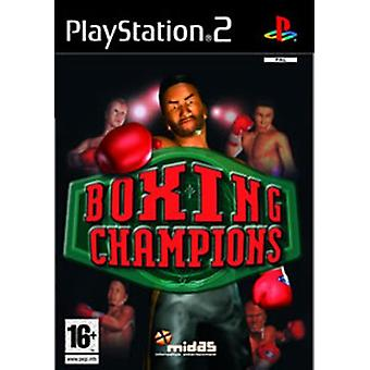 Boxing Champions (PS2) - Factory Sealed