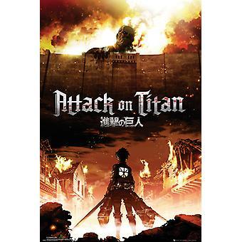 Angriff auf Titan Key Art Maxi Poster 61x91.5cm