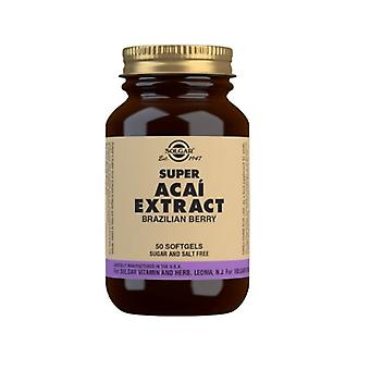 Solgar Super Acai Extract 150mg Softgels 50 (63)
