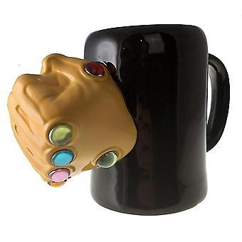 Geformte Becher - Marvel - Thanos Infinity Gauntlet Ringe 24oz neue momg-mu-infg
