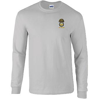 Royal Welch Fusiliers Veteran - Licensed British Army Embroidered Long Sleeved T-Shirt
