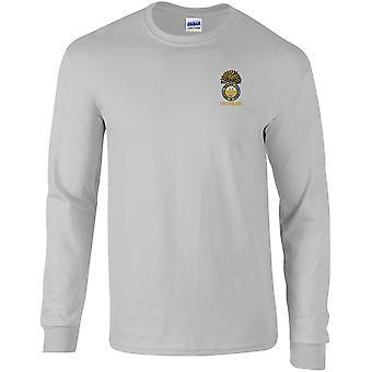 Royal Welch Fusiliers Veteran - lizenzierte britische Armee bestickt langärmelige T-Shirt
