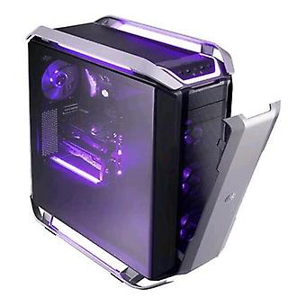 Koeler Master Cosmos c700p geval volledige toren Mini-ITX/Micro-ATX/ATX/e-ATX/1 x USB 3,1 (Gen 2 type c)/4 x USB 3,0 kleur zwart met gehard glas venster