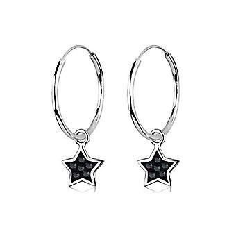 Elli 0305232011 - Swarovski crystal women's hoop earrings - sterling silver 925