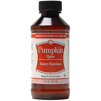 Bakery Emulsions Natural & Artificial Flavor 4Oz Pumpkin 0806 0789
