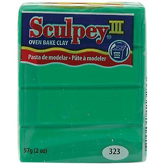 Sculpey Iii Polymer Clay 2 onces Emerald S302 323