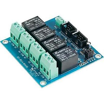 Relay card C-Control Pro AVR 32-bit REL4 Board