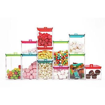 Zak Boat meeme Stackable Transparent (Home , Kitchen , Storage and pantry , Glass jars)
