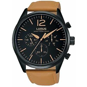 Lorus Mens Brown Chronograph RX411AX9 Watch