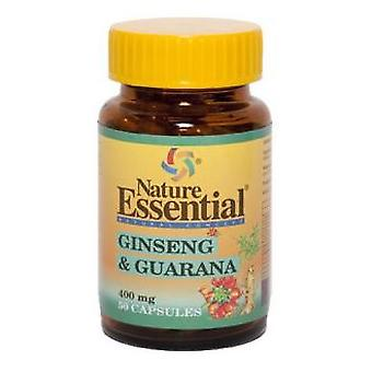 Nature Essential Ginseng & Guarana 400 Mg. 50 capsules