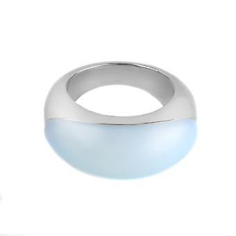 Calvin Klein steel ring with Colored Stone