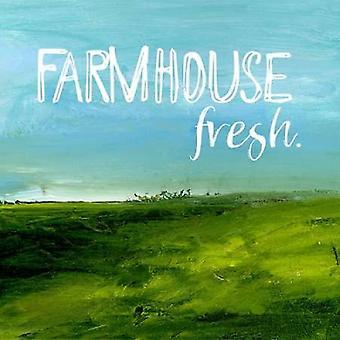 Agriturismo fresco Poster stampa di Pamela J Wingard