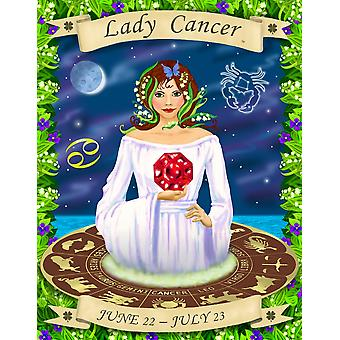 Cancer Poster Print by Sheila Kalisher (25 x 31)