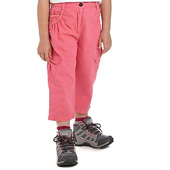 New Regatta Girl's Moonshine Summer Wear Capri Pants Pink