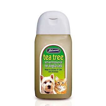 Jvp Dog & Cat Tea Tree Shampoo 125ml (Pack of 6)
