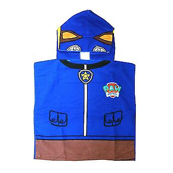Children's Paw Patrol Chase Hooded Bath Towel Poncho