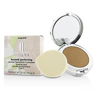 Clinique Beyond Perfecting Powder Foundation + Corrector - # 15 Beige (M-N) - 14.5g/0.51oz