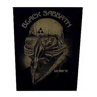 Black Sabbath US Tour '78 Back Patch