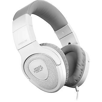 Speedlink Medusa Street XE Stereo Headset White/Grey (Model No. SL-870000-WEGY)