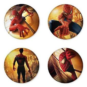 STOCK ITEM | Mid Size Badges | SPIDERMAN | Ideal Party Bag Badges | SINGLE BADGE