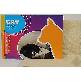 Katze-Radiator-Bett aus weichem Fleece gefertigt fügen Sie es auf den Heizkörper