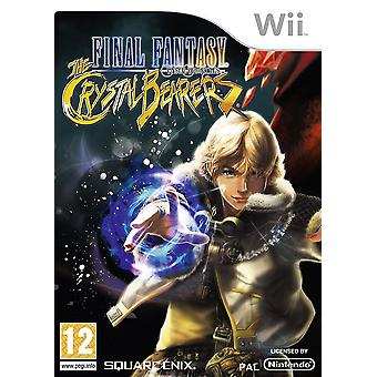 Final Fantasy cristal Chronicles portadores Nintendo Wii juego