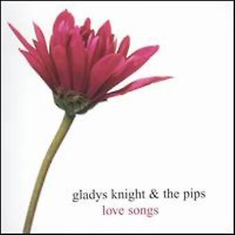 Gladys Knight & Pips - kærlighedssange [CD] USA importerer