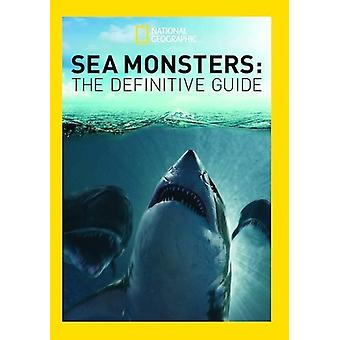 Sea Monster's: The Definitive Guide [DVD] USA import