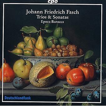 J.F. Fasch - Johann Friedrich Fasch: Trioer & sonater [CD] USA import
