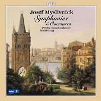 J. Myslivecek - Josef Myslivecek: Symphonies; 5 Overtures [CD] USA import