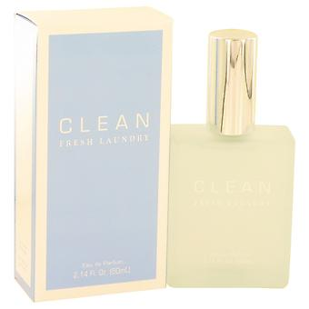 Clean Women Clean Fresh Laundry Eau De Parfum Spray By Clean