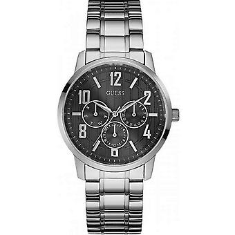 Guess Multifunction Stainless Steel Mens Watch W0605G1