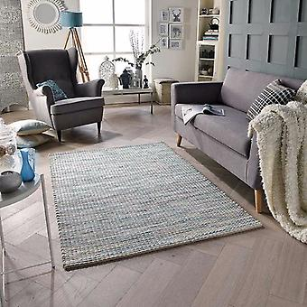 Harper Blue  Rectangle Rugs Plain/Nearly Plain Rugs