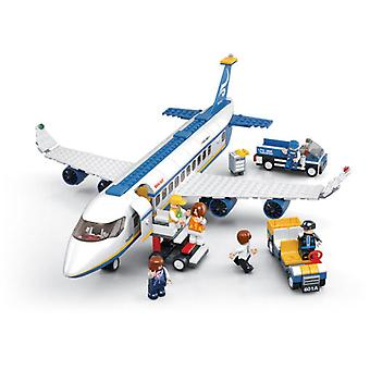 Sluban Jet Aviation Skybus With Accessories (Toys , Constructions , Vehicles)
