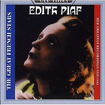 Edith Piaf - importación de Estados Unidos 1935-1943 [CD] sus grabaciones más grandes