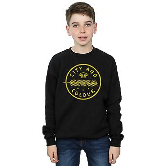 City and Colour Boys Feather Eye Sweatshirt