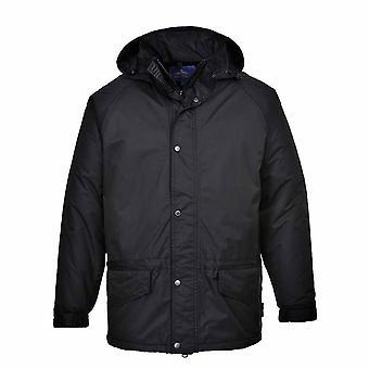 Portwest - Arbroath Breathable Fleece Lined Waterproof Jacket With Hood