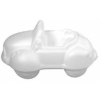 170mm Polystyrene Car Shape to Decorate | Styrofoam Shapes for Crafts
