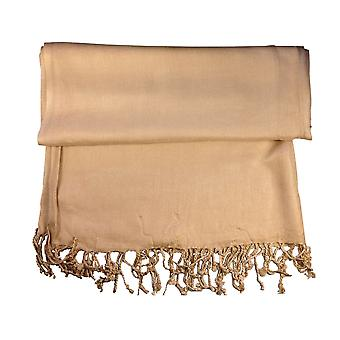 Plain Tassel Pashmina Scarf, Wrap, Shawl, Throw