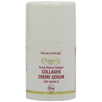 Higher Nature Aeterna Gold Collagen Creme Serum, 50 ml