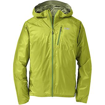 Outdoor Research Mens Helium II Jacket Lemongrass (X-Large)