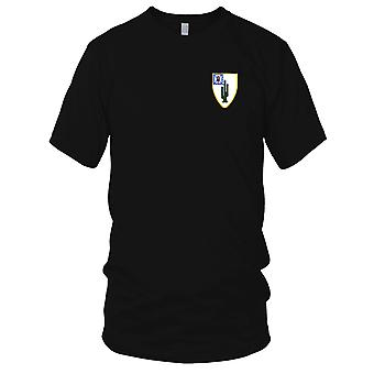 US Army - 35th Infantry Regiment Embroidered Patch - Mens T Shirt