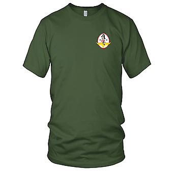 US Navy VF-81 Embroidered Patch - Pirate Mens T Shirt