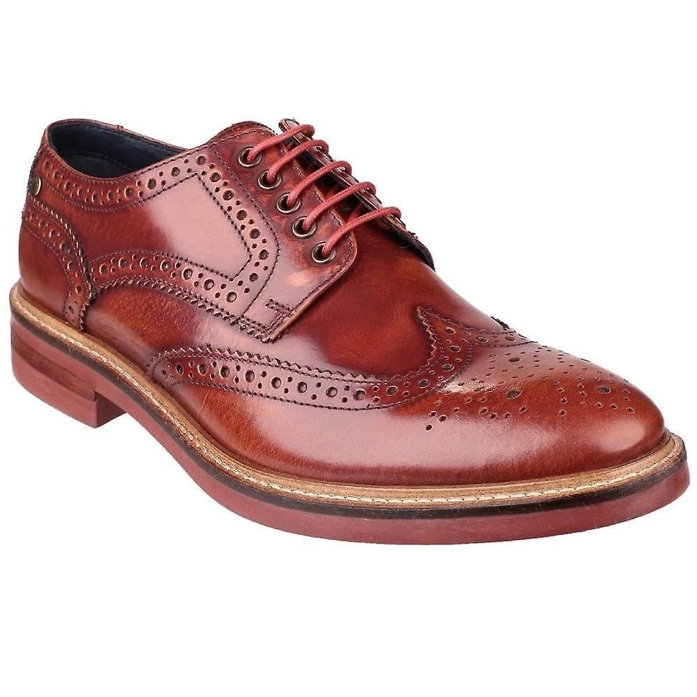 Base London Woburn Mens Brogue Schuhe
