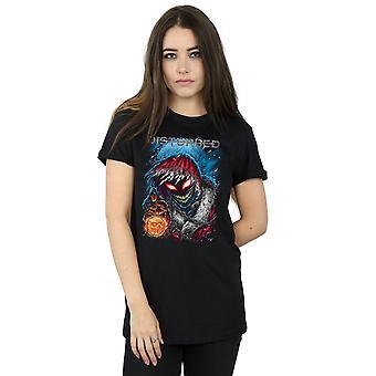 Disturbed Women's Stole Christmas Boyfriend Fit T-Shirt