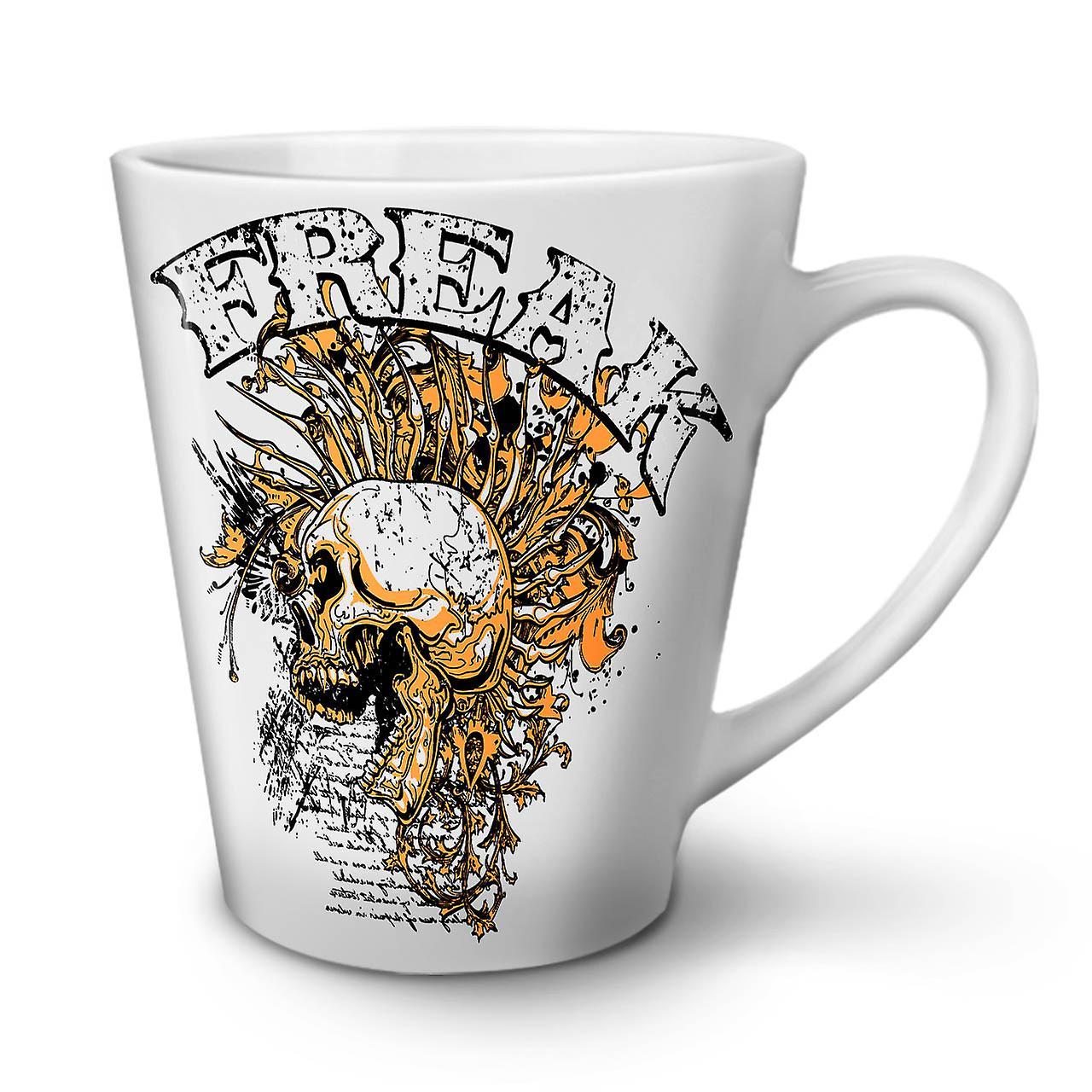Mug Ceramic Freak Coffee OzWellcoda Skull 12 Tea New Funk Rock White Latte lK1TJuFc3