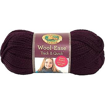 Wool-Ease Thick & Quick Bonus Bundle Yarn-Eggplant 641-147
